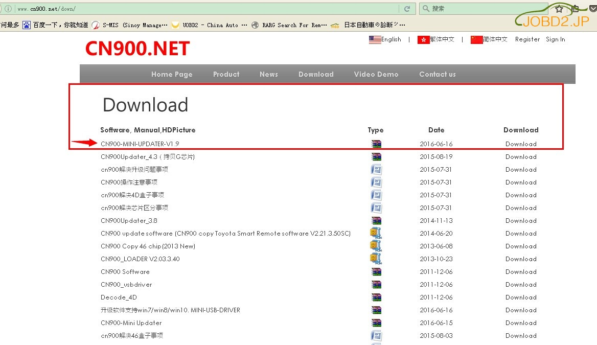min cn900 v1.9