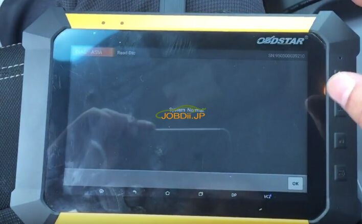 obdstar-x300-dp-review-diagnose-kia-sportage-engine-airbag-8