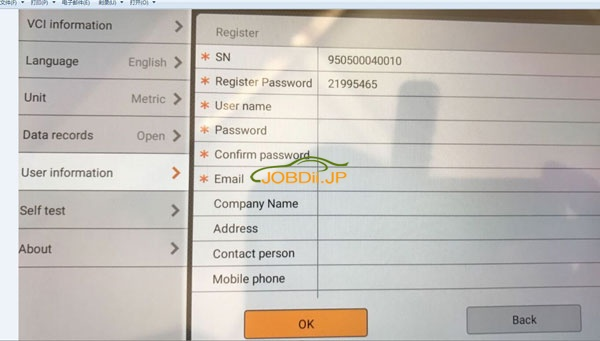 obdstar-x300-dp-user-name-password