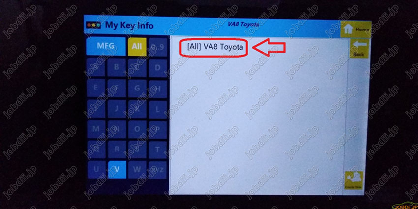 sec-e9z-create-new-key-for-va8-toyota-22