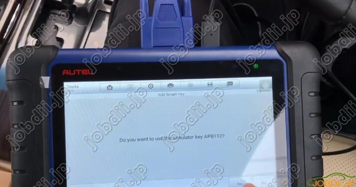 Autel IM508 & APB112 All Keys Lost Programming for Toyota Camry 2016 -17
