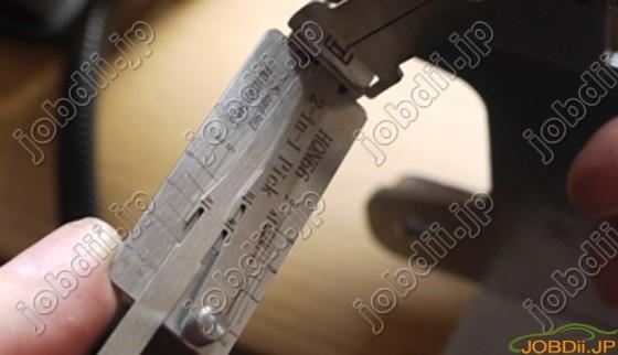 Lishi Hon66 Lock Pick Decode 5