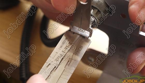 Lishi Hon66 Lock Pick Decode 7