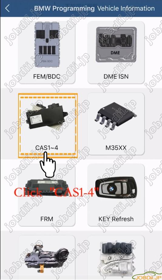 Yanhua Mini Acdp Bmw Cas4 Via Obd 3