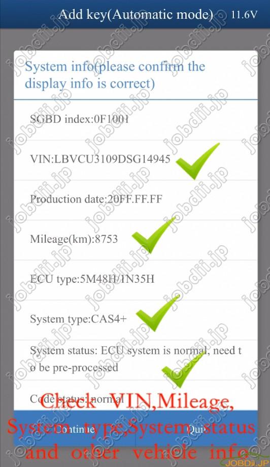 Yanhua Mini Acdp Bmw Cas4 Via Obd 8