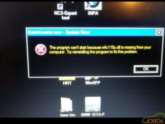 SVCI 2020 QuickLoader System Error