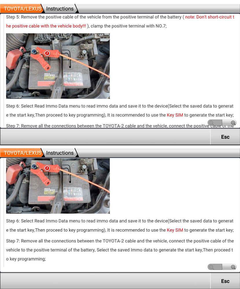 Obdstar P002 Toyota 8a Non Smart Key All Keys Lost 12